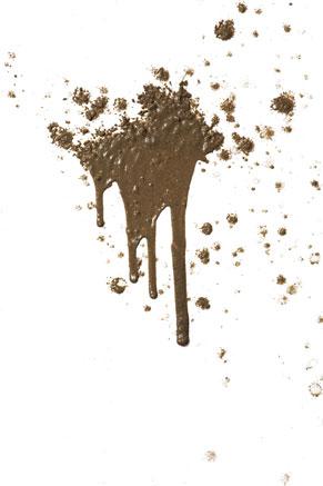 Mud-splatter