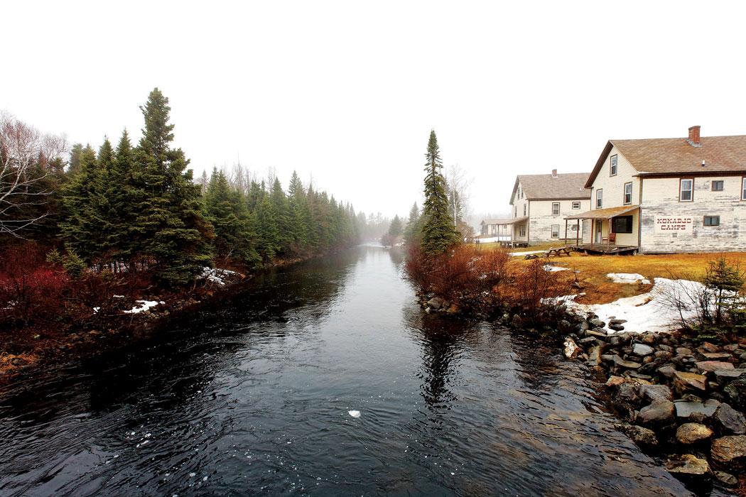 Down East, Where in Maine, Kokadjo