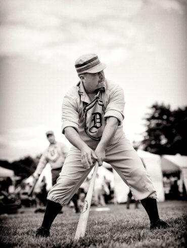 The Throwbacks, Vintage Baseball, Bob Hubbard 1