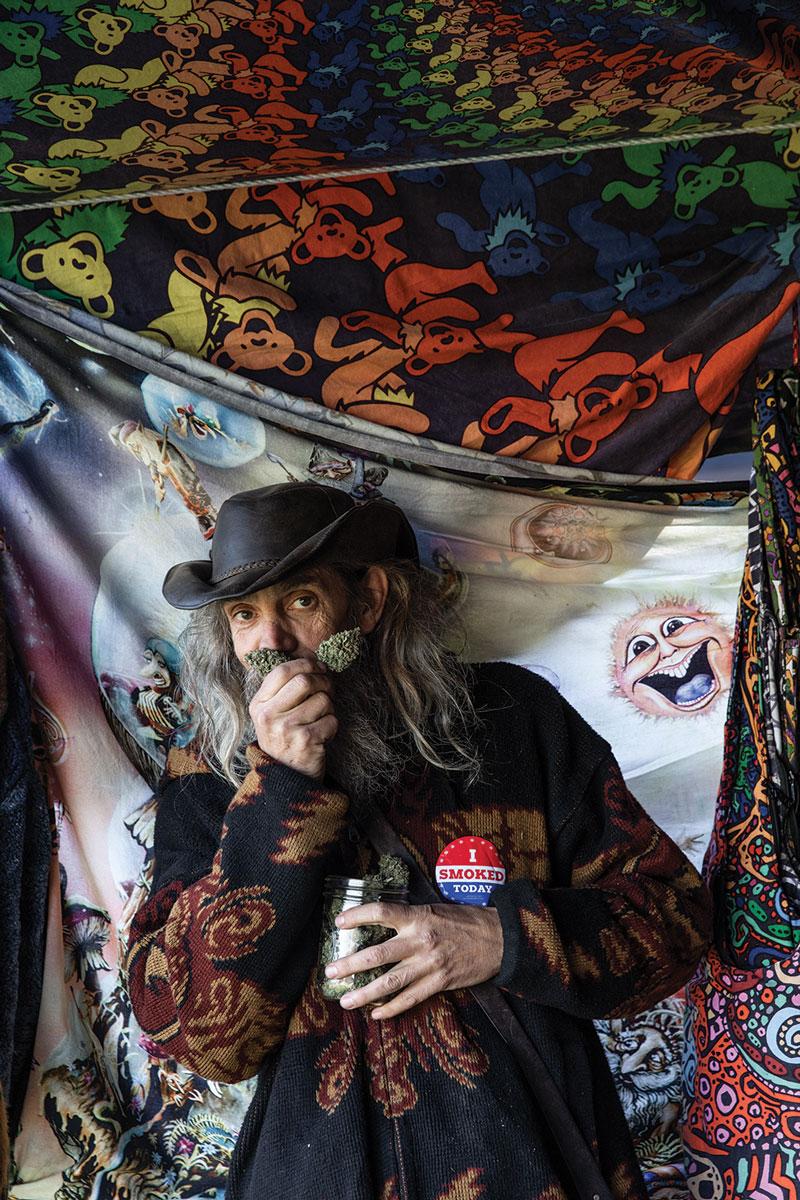 Dougie, longtime festival attendee and vendor