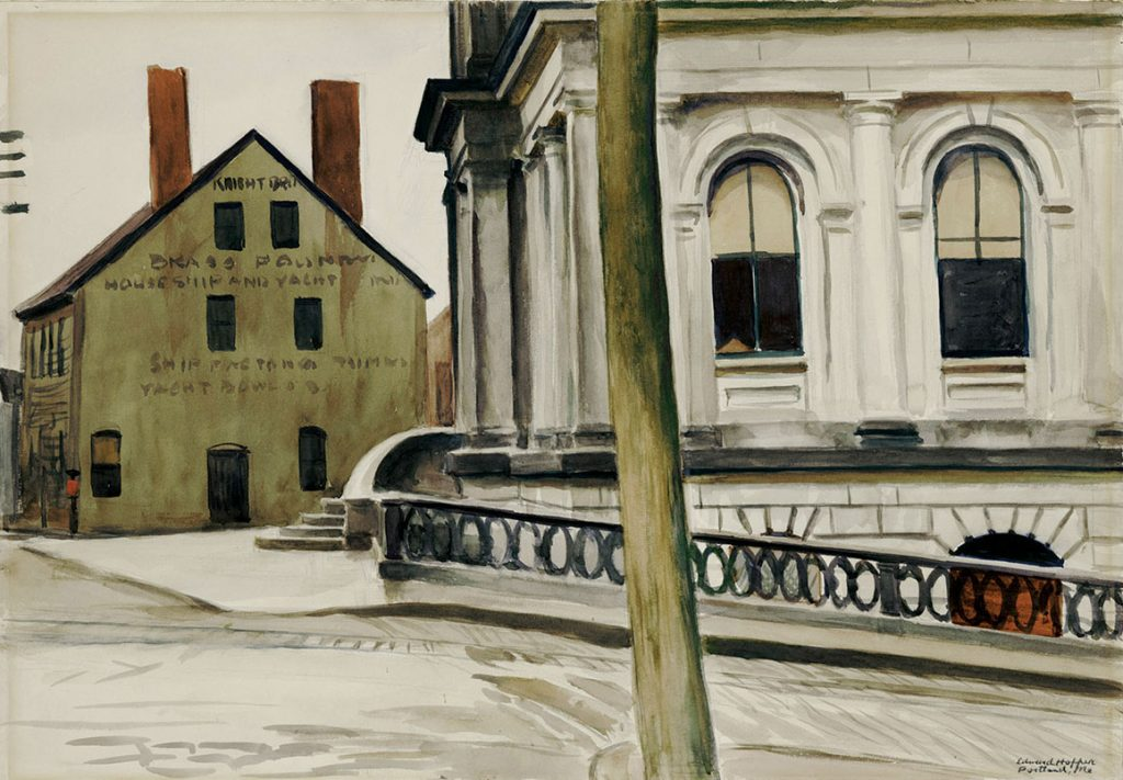 Custom House, Portland 1927
