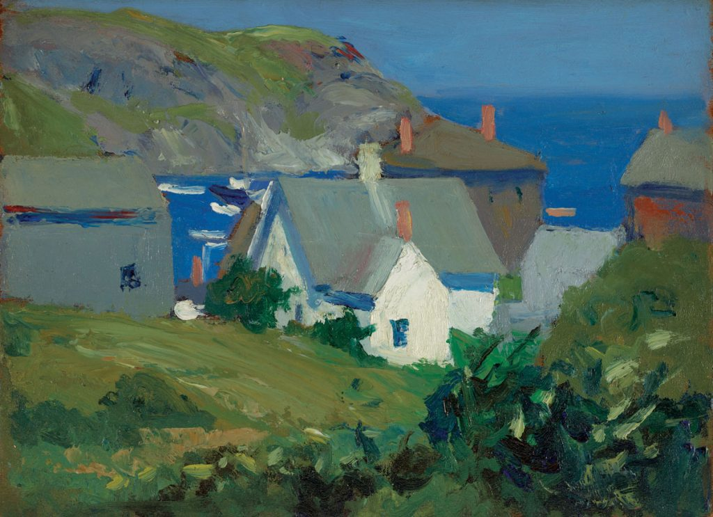 Monhegan Houses, Maine 1916–1919