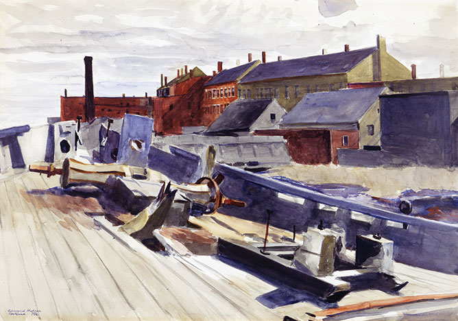 Schooner's Hull 1926