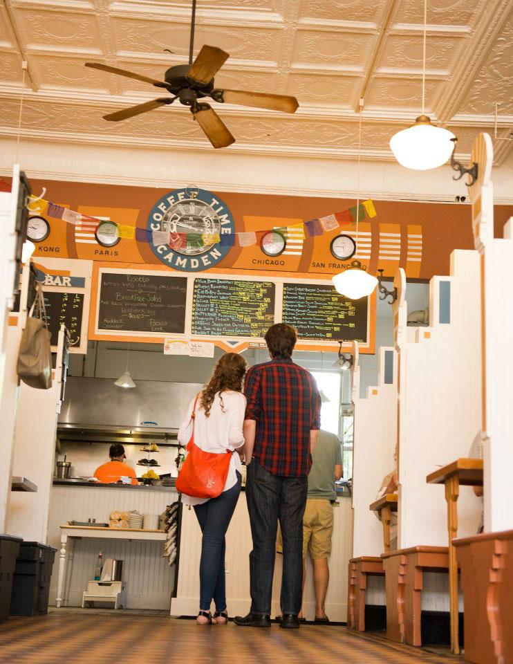 Maine Restaurant, Boynton-McKay, Camden, Maine
