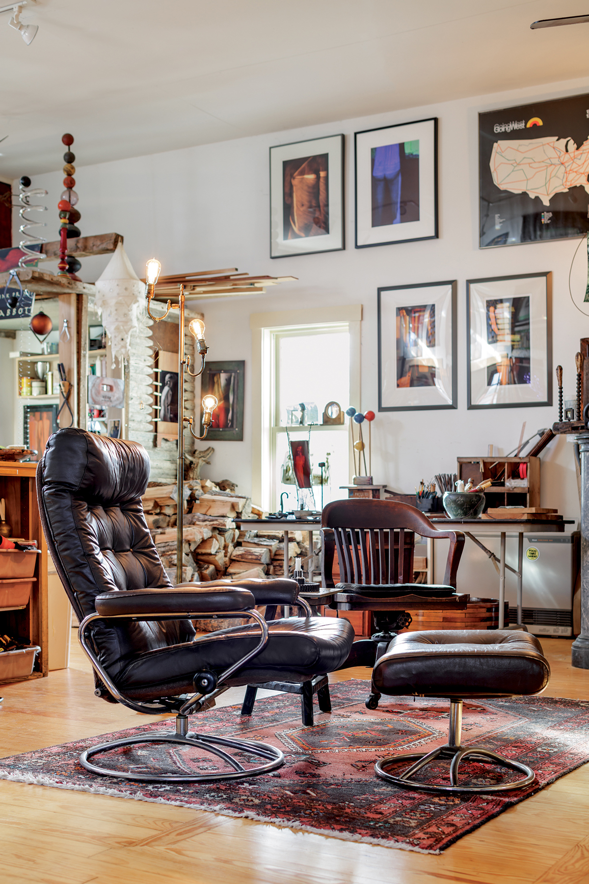 Maine Home, Cabinet of Curiosities