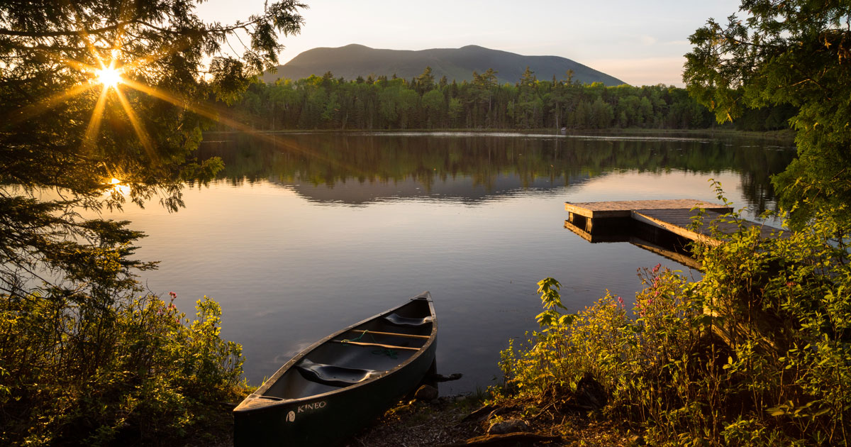 Maine Land Conservation Lay Of The Land Down East Magazine