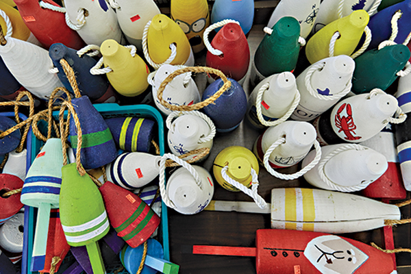 pot buoy trinkets for sale at big al's