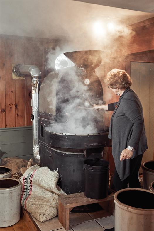 Sandra Duckett's German-made roaster
