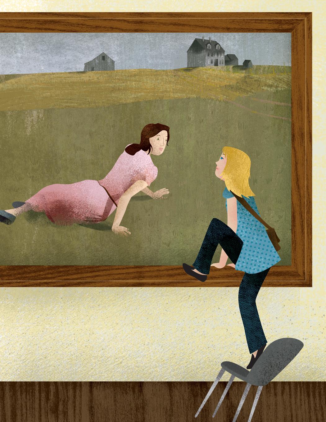 Andrew Wyeth Christina S World Christina And Me Down