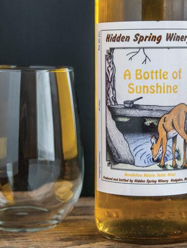 Hidden Spring Winery - A Bottle of Sunshine