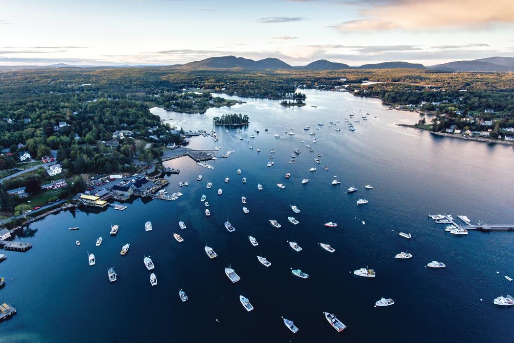 Bass Harbor - Maine harbors