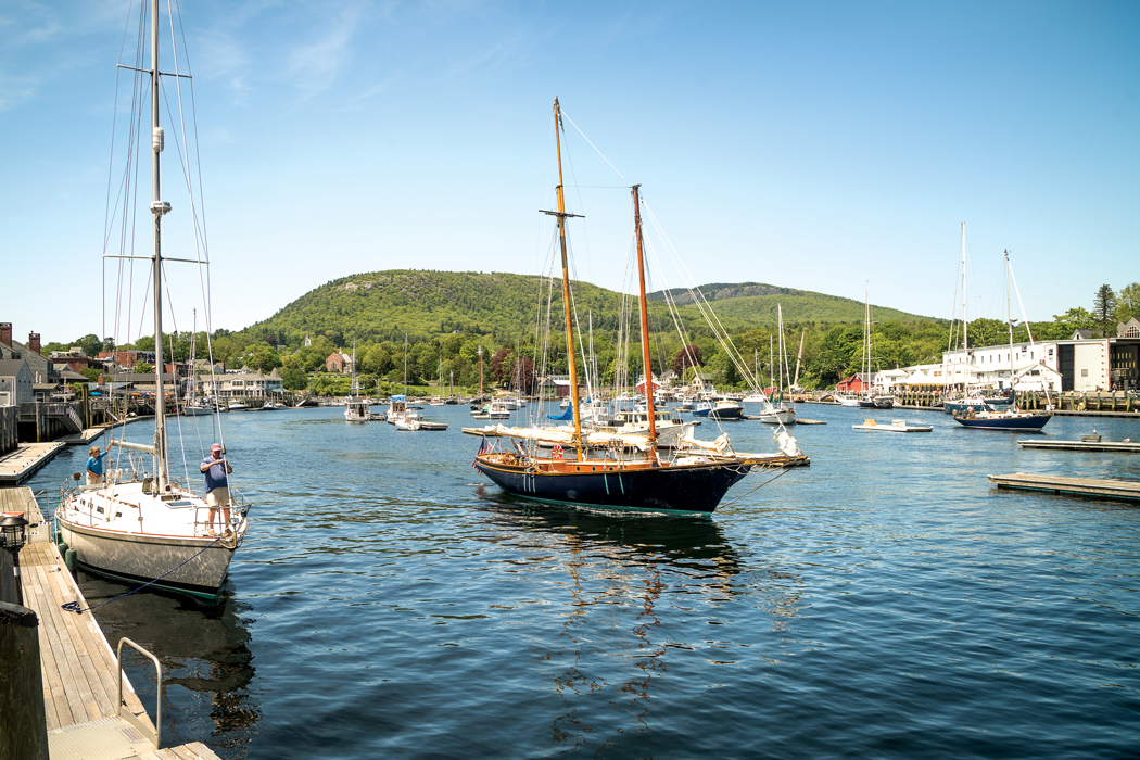 Camden Harbor - Maine harbors