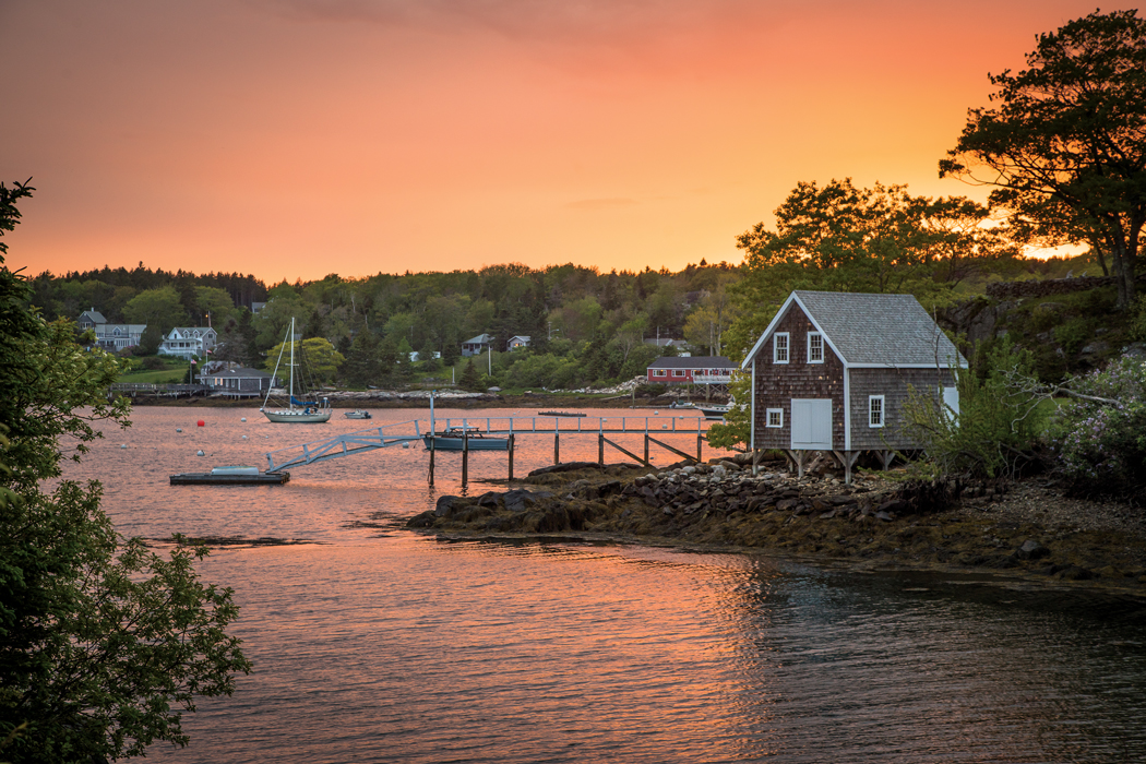 Christmas Cove - Maine harbors