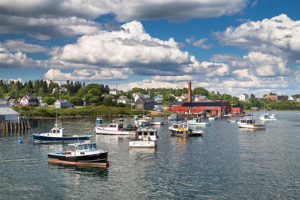 Jonesport - Maine harbors