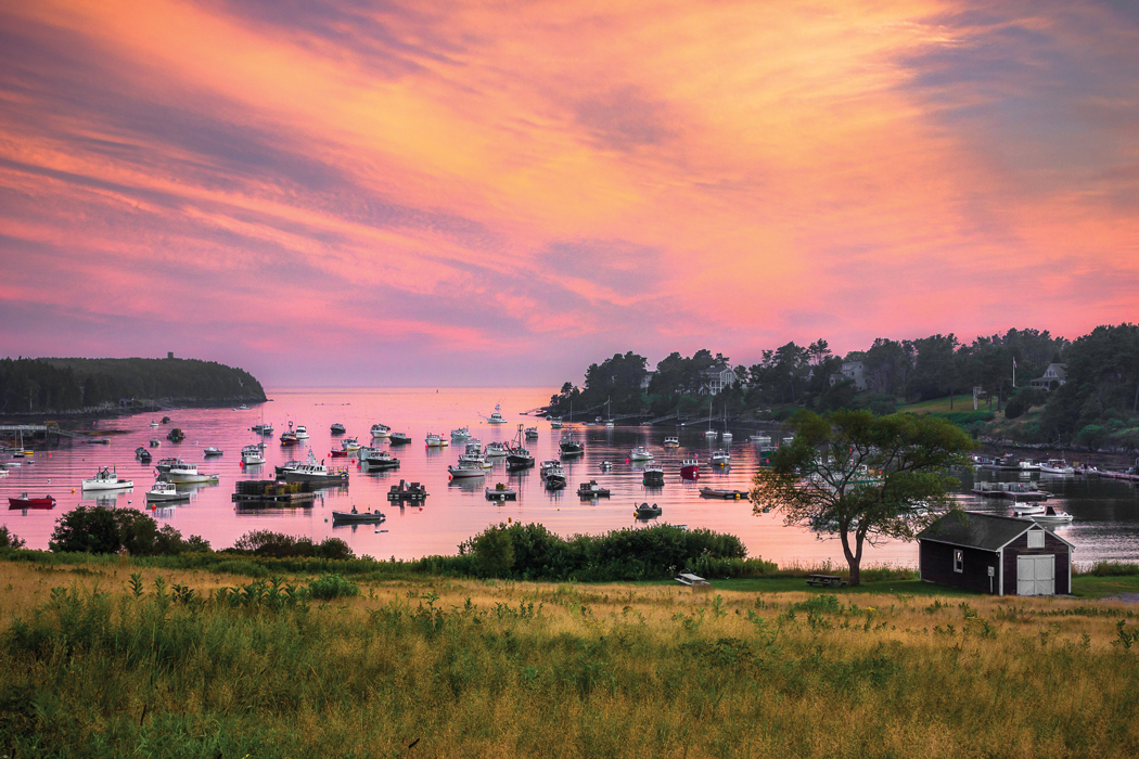 Mackerel Cove - Maine harbors