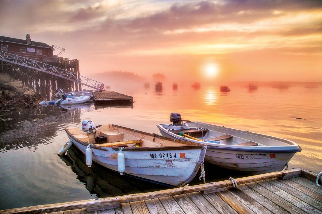 Five Islands Harbor - Maine harbors