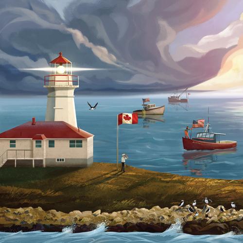 light house Machias Seal Island