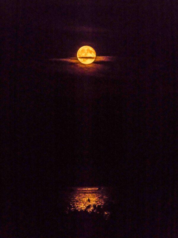 Port Clyde Full Moon