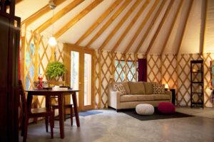 Acadia Yurts - Maine Inns