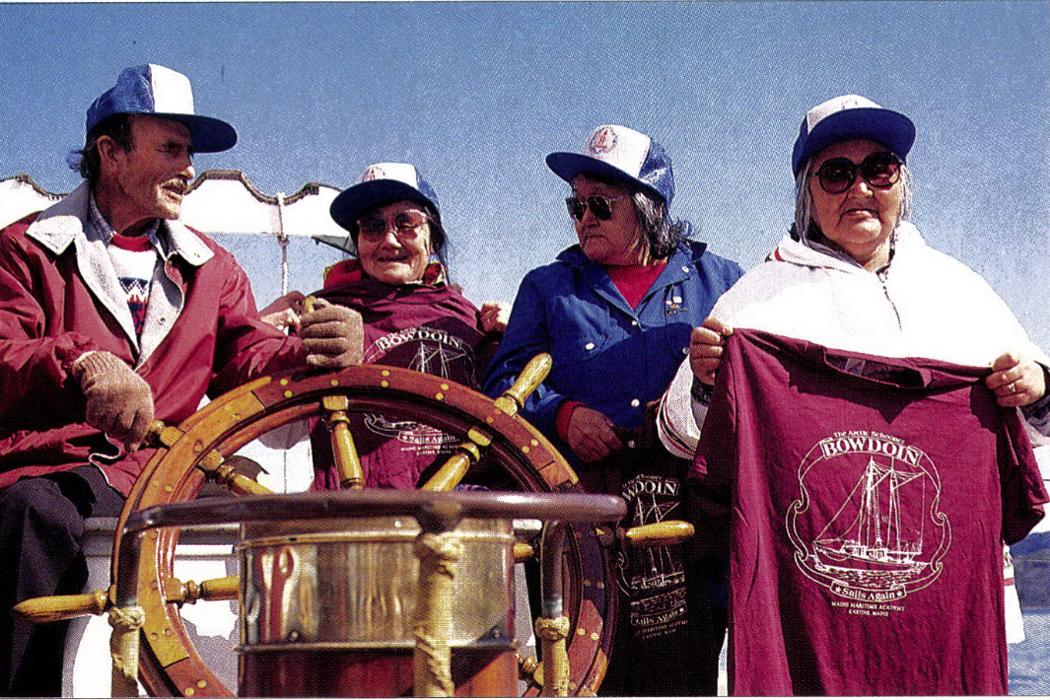 Bowdoin crew