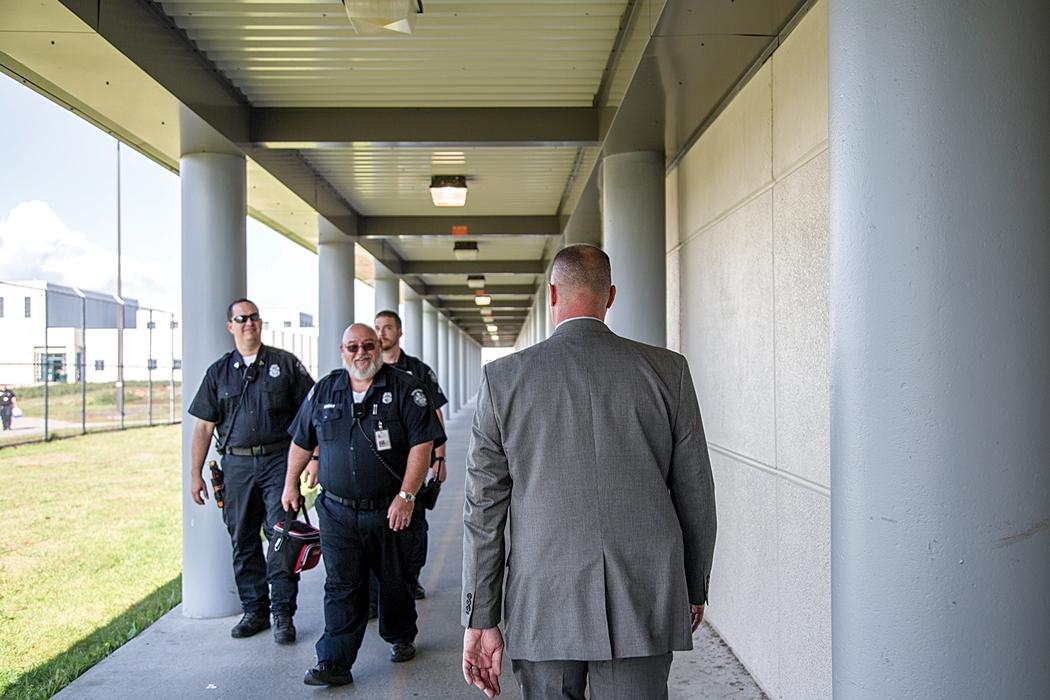 Maine State Prison warden