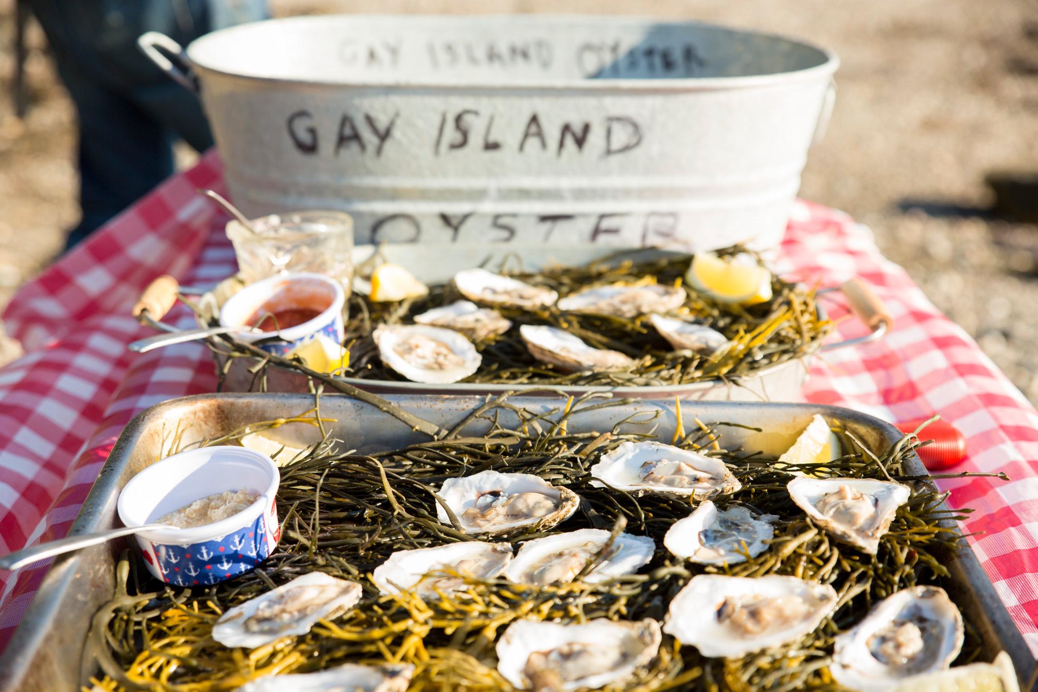 Gay Island Oyster Farm