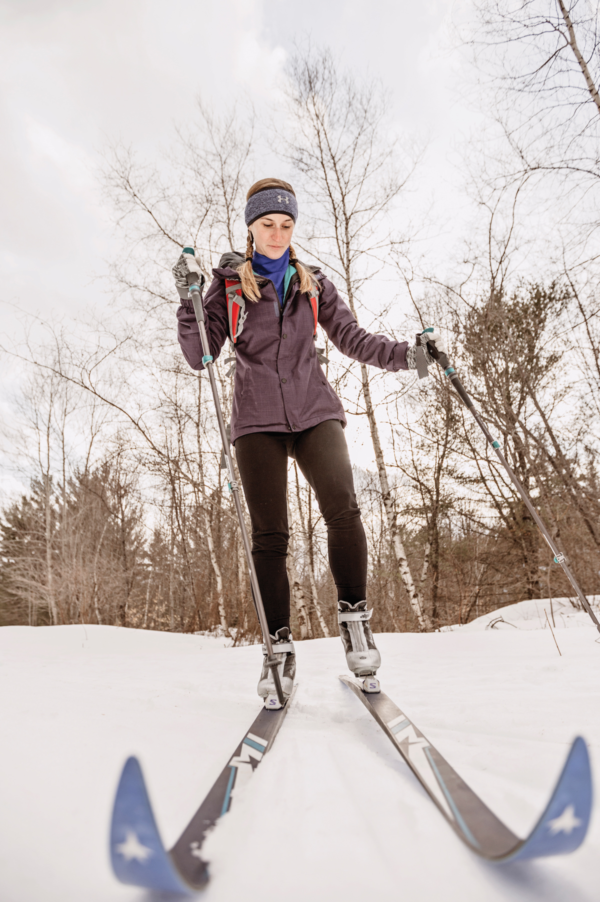Maine cross-country skiing
