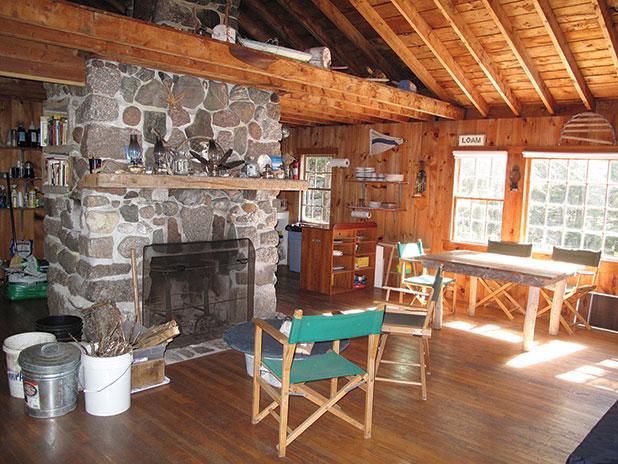 Saddleback Island, Maine