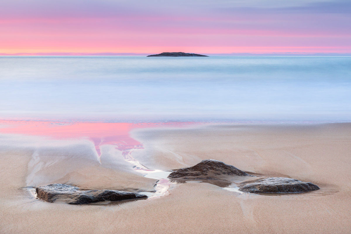 Sand Beach, Acadia National Park, by John Putnam