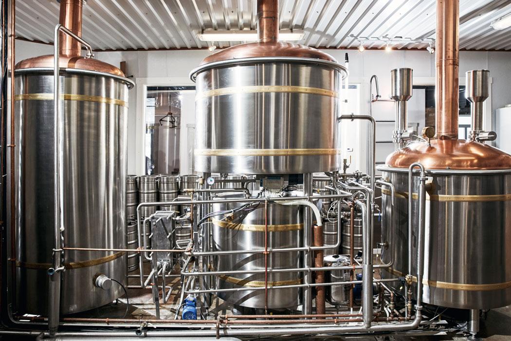 Austrian-engineered brew system