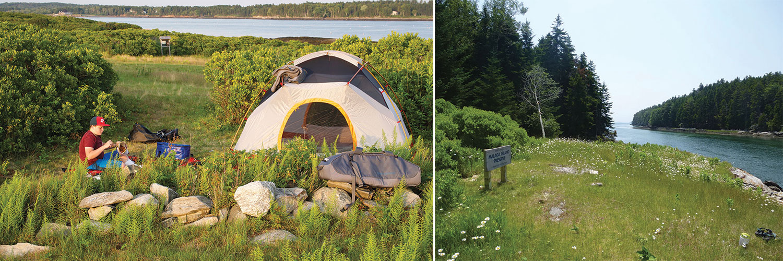 Whaleboat Island Preserve and Malaga Island Preserve, Maine