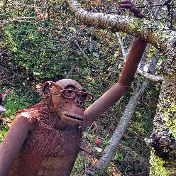 scholarly ape by Nathan Nicholls