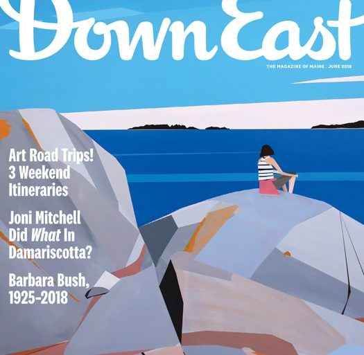 June 2018 cover of Down East magazine