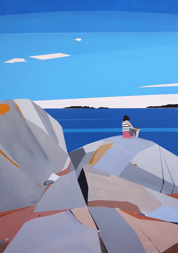 Molly, Birch Island by Greta Van Campen