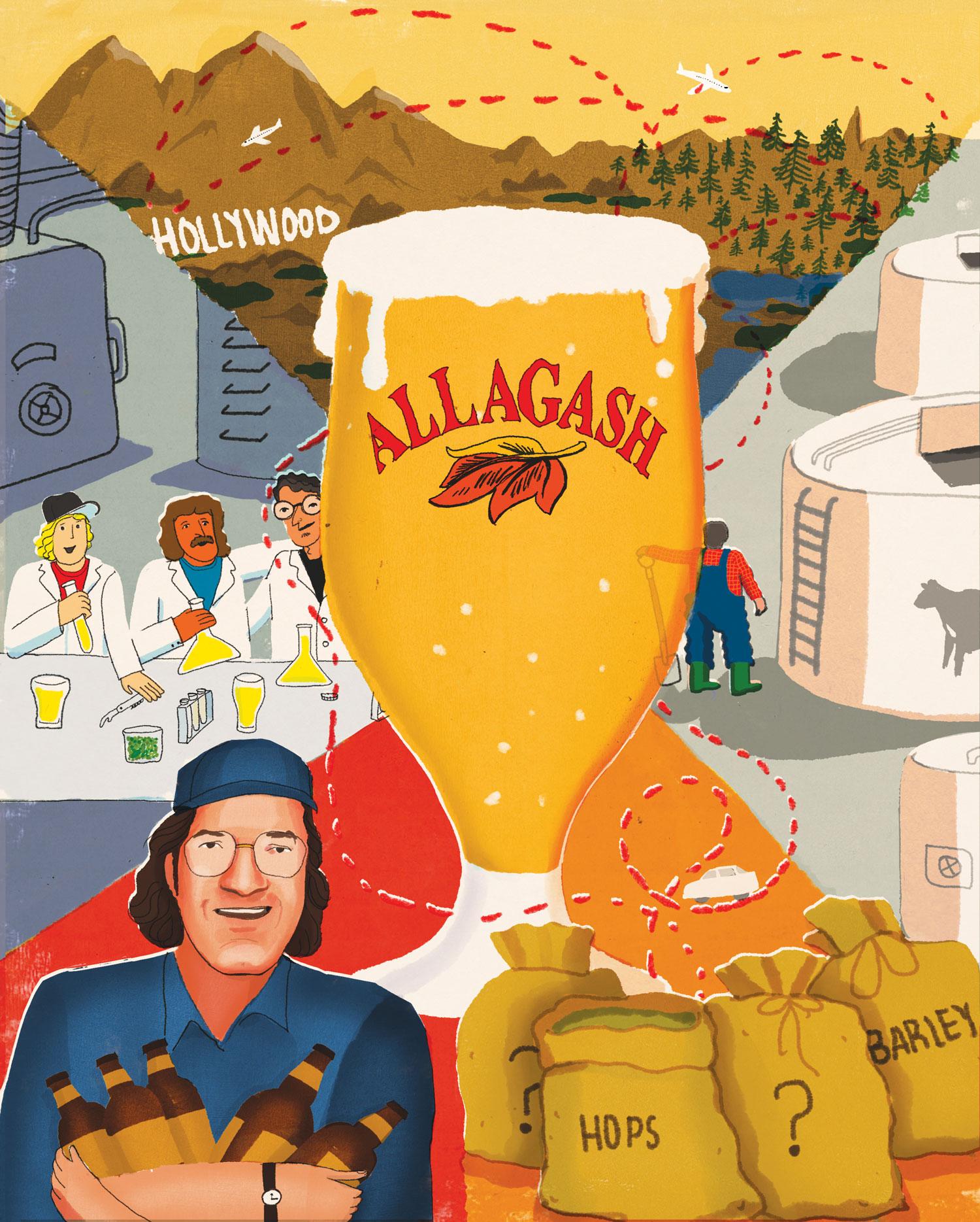 Allagash White by Allagash Brewery
