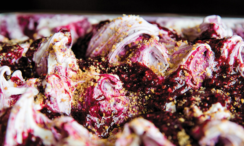 Gelato Fiasco blueberry variegate recipe
