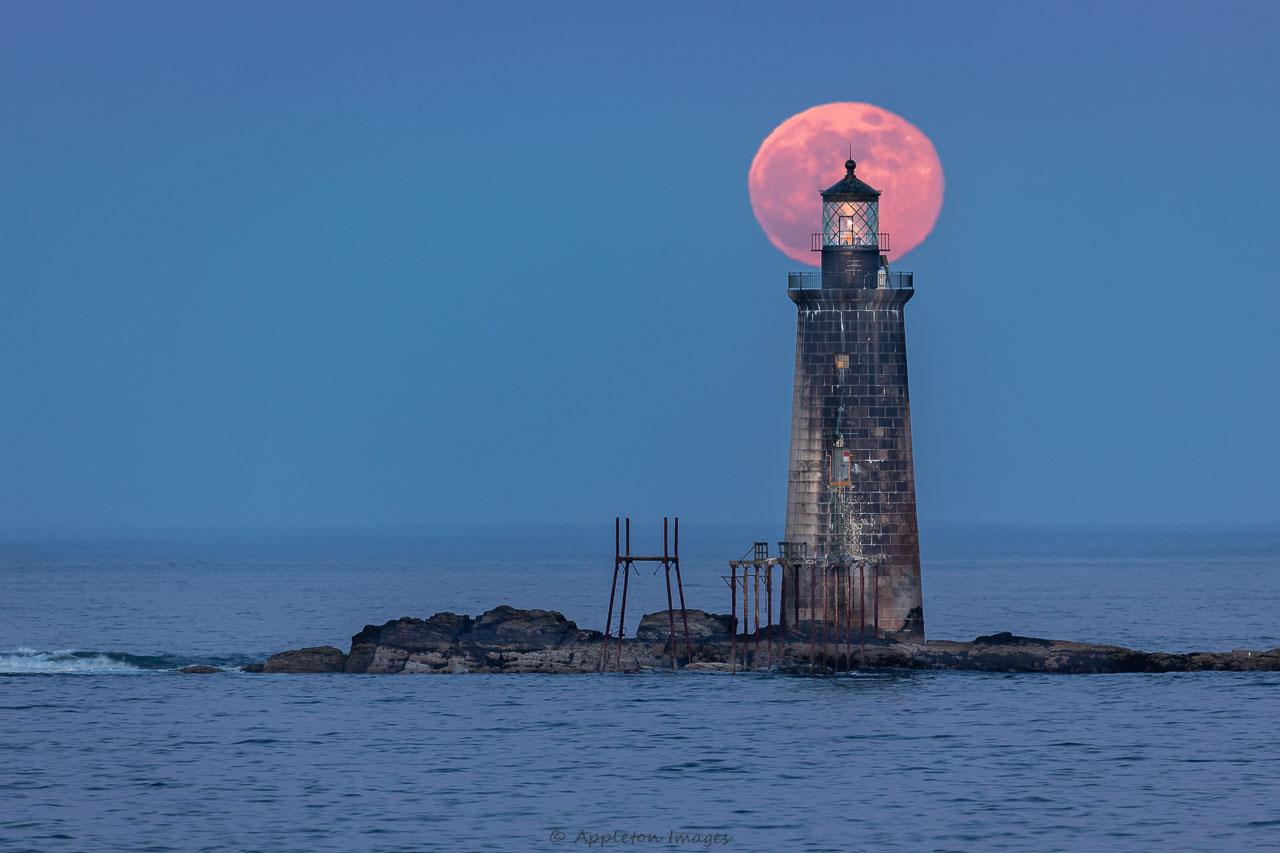 Ram Island Ledge Lighthouse – Colin Chase