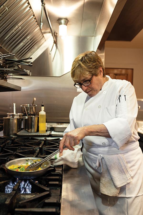 Chef Rebecca Charles.