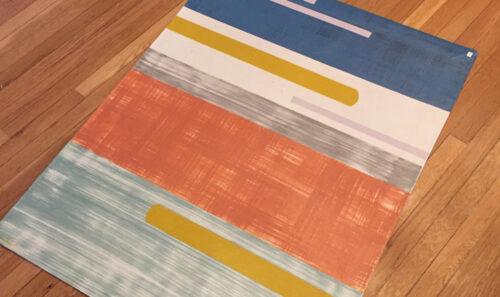 Addie Peet Floorcloth