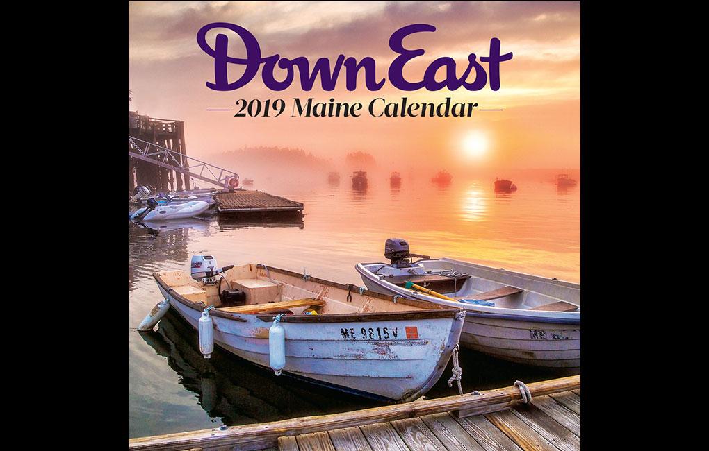 Maine Wall Calendar