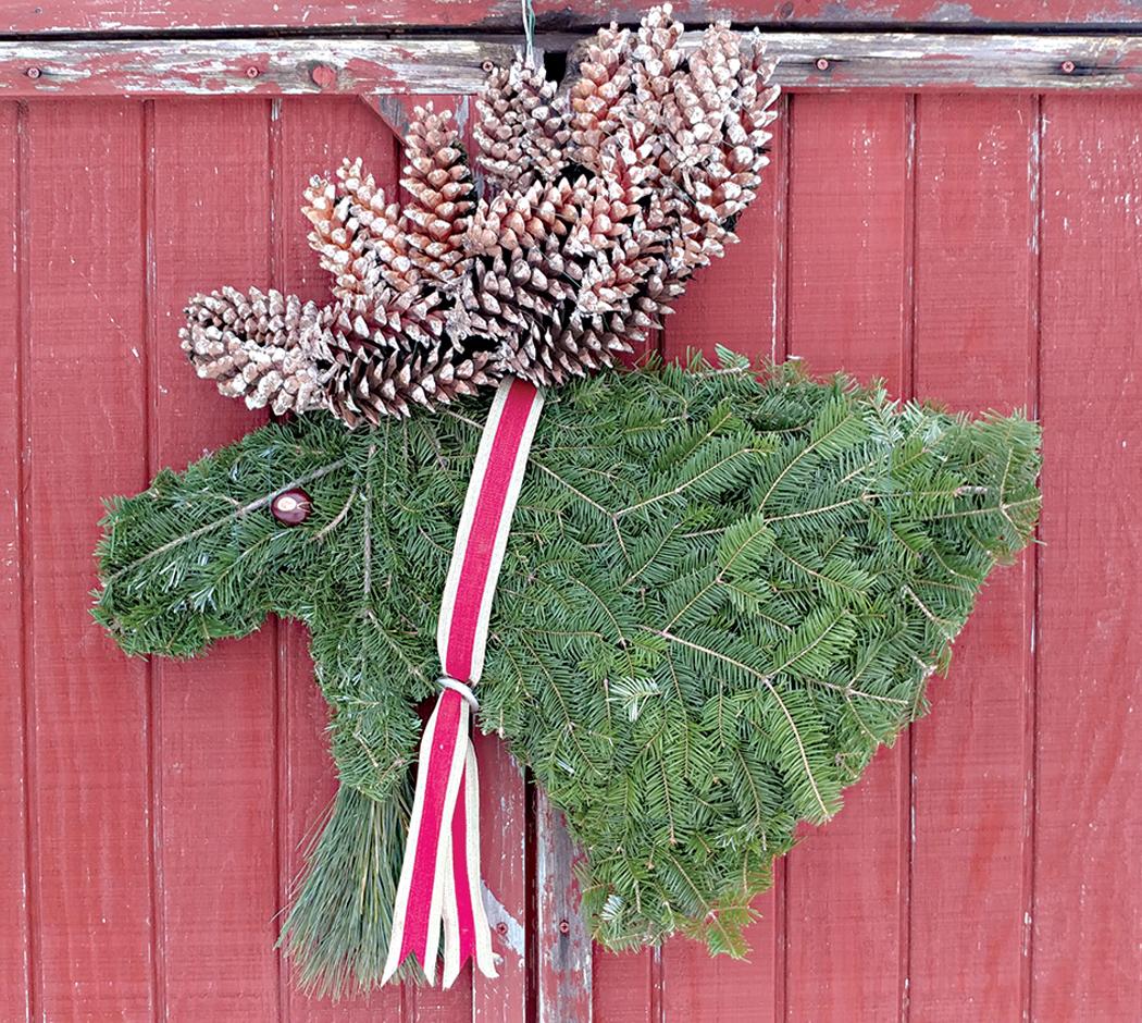 Moose Wreath