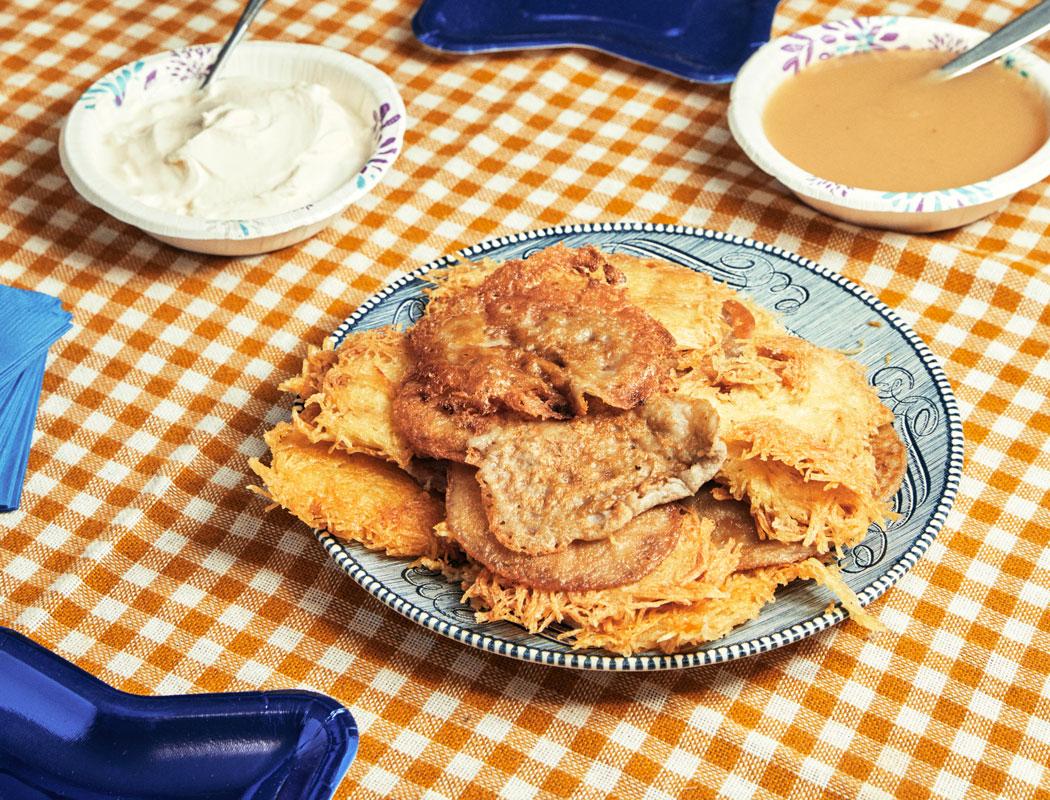 Susan Montell's Latke Recipe