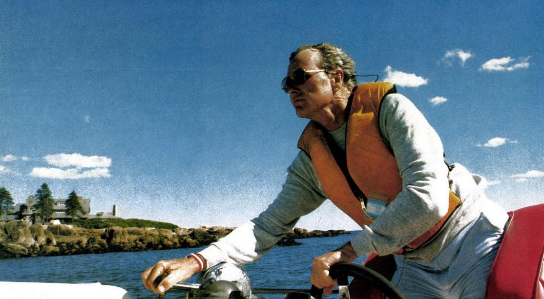 George H. W. Bush speedboat