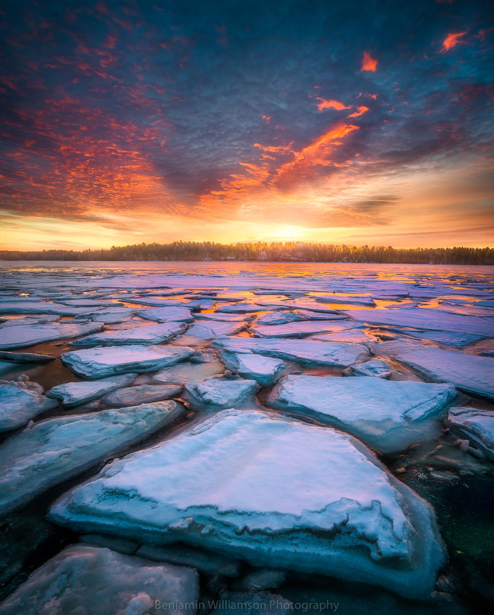Brunswick, Maine Sunrise