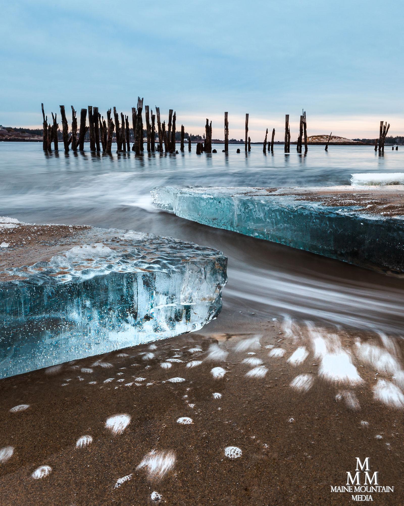 Maine Mountain Media, Fort Popham Ice