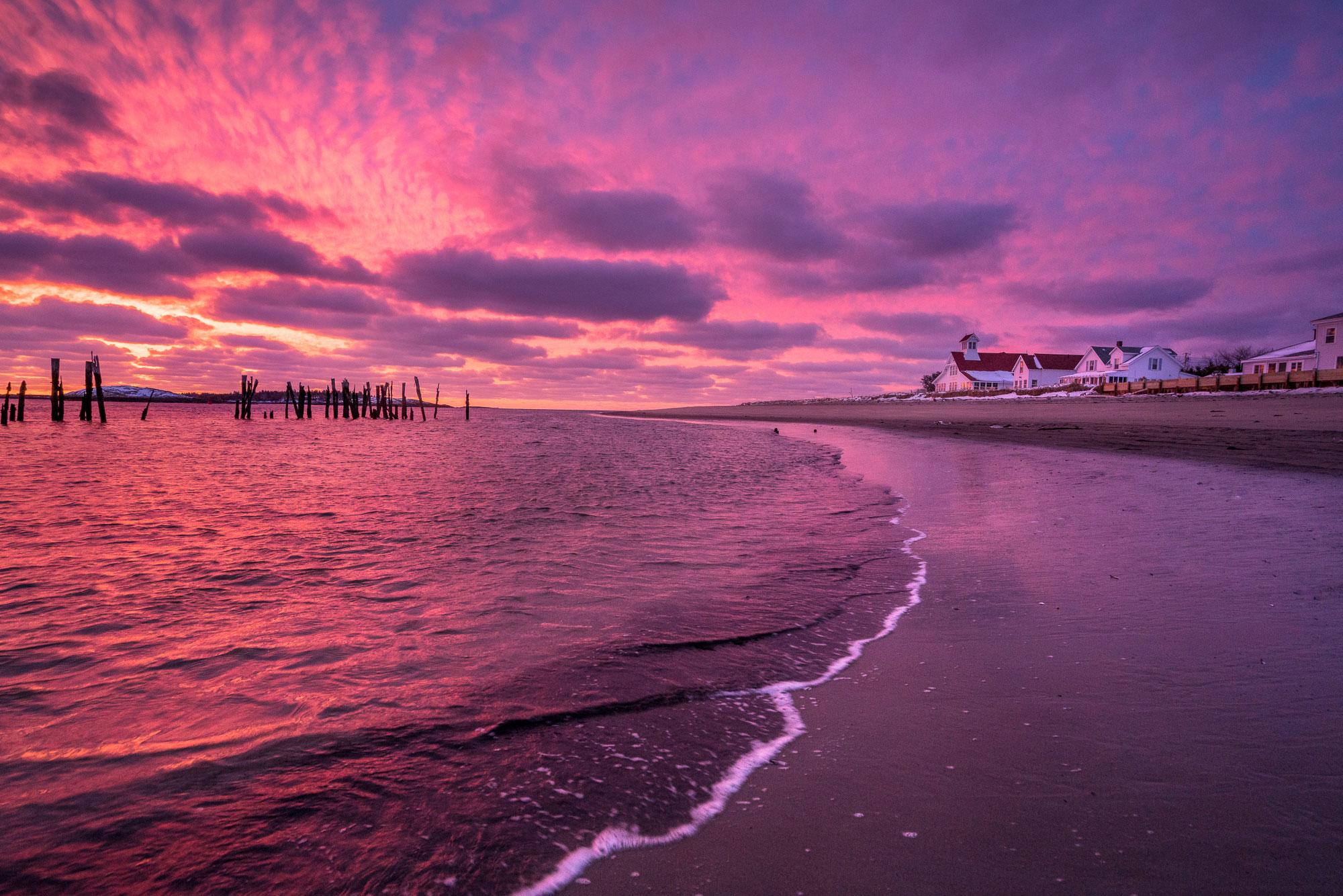 Popham Beach Sunrise