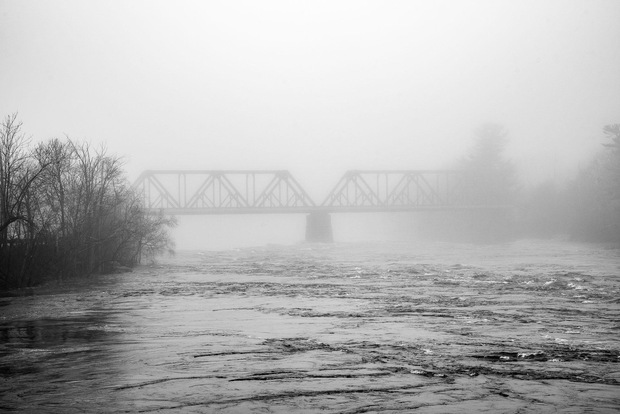 The Black Bridge, Brunswick Topsham