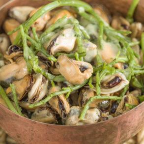 Sam Sifton's mussel salad