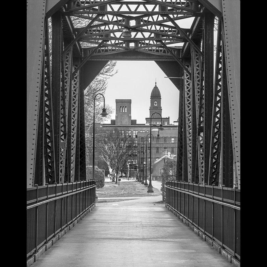 Old Railroad Bridge and Lewiston
