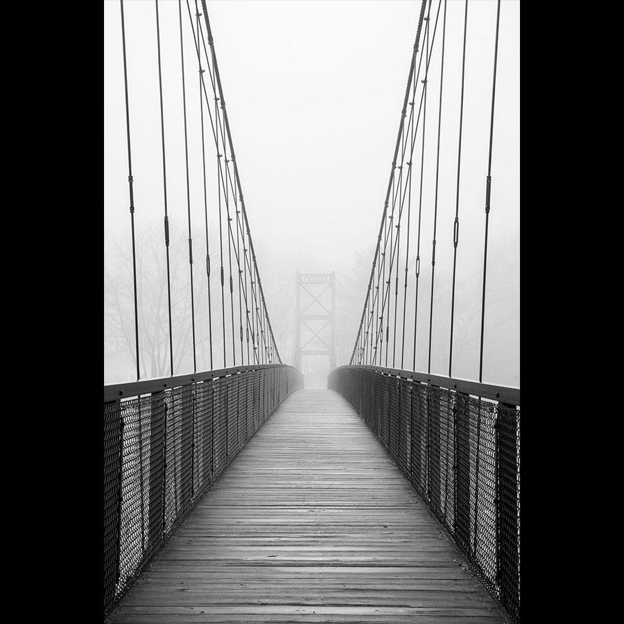 Swinging Bridge, Brunswick-Topsham
